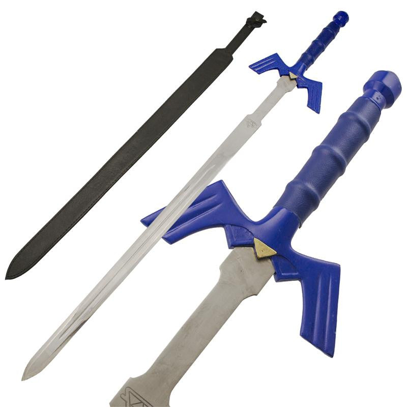 Chain of Time Blue Handle Sword, , Panther Trading Company- Panther Wholesale