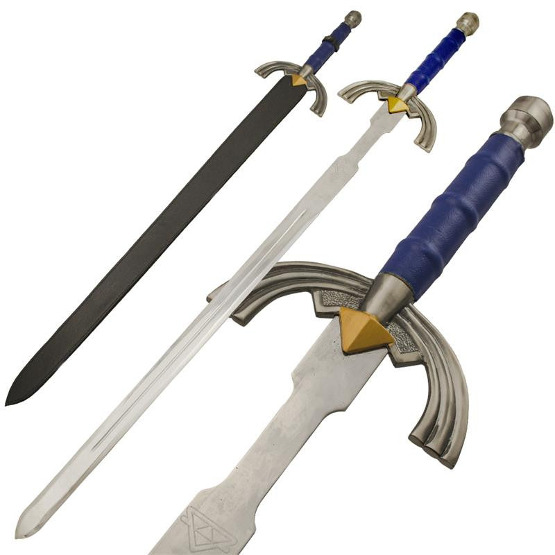 Chain of Time Engraved Handle Sword, , Panther Trading Company- Panther Wholesale