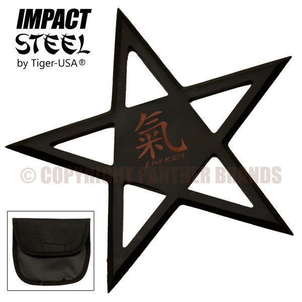 Chinese Energy Symbol Pentagram Throwing Star, , Panther Trading Company- Panther Wholesale