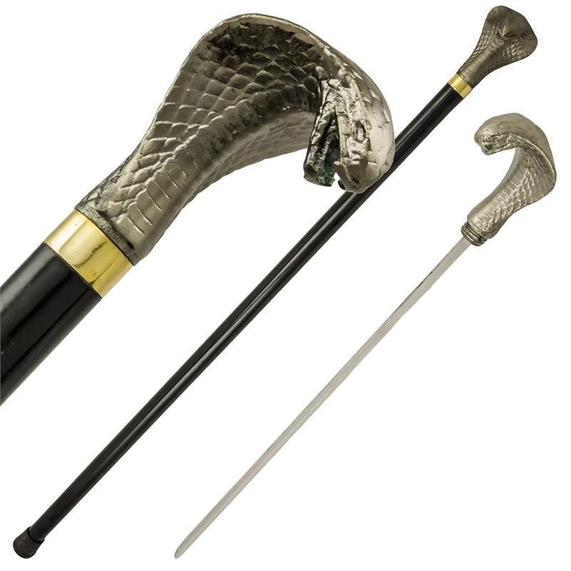 Cobra Walking Cane, , Panther Trading Company- Panther Wholesale
