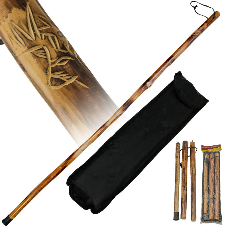 Collapsible Wooden Hiking Cane from Red Deer - Deer, , Panther Trading Company- Panther Wholesale