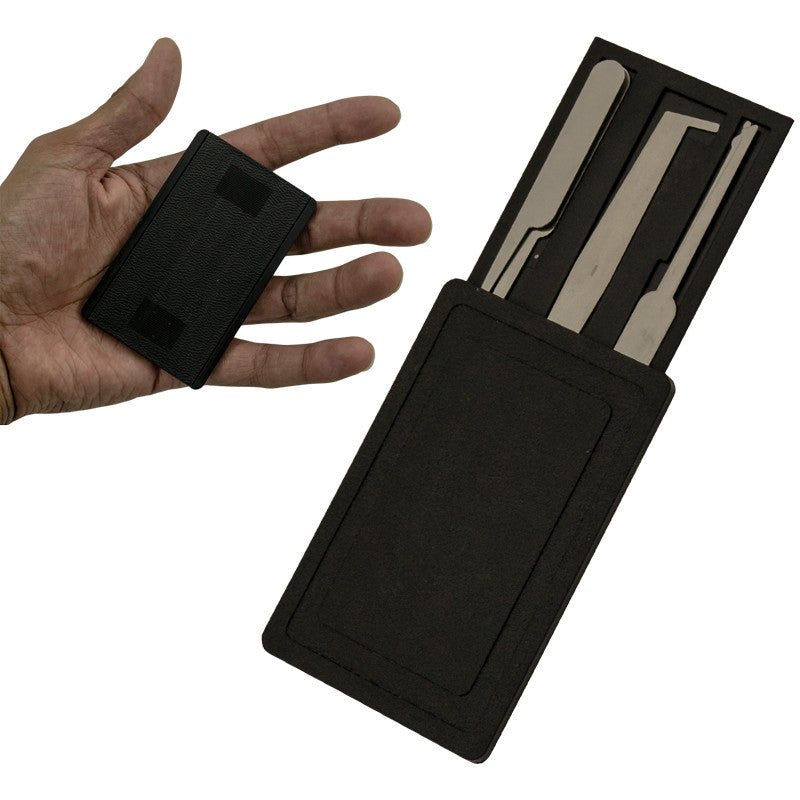 Compact Credit Card Lockpick Set, , Panther Trading Company- Panther Wholesale