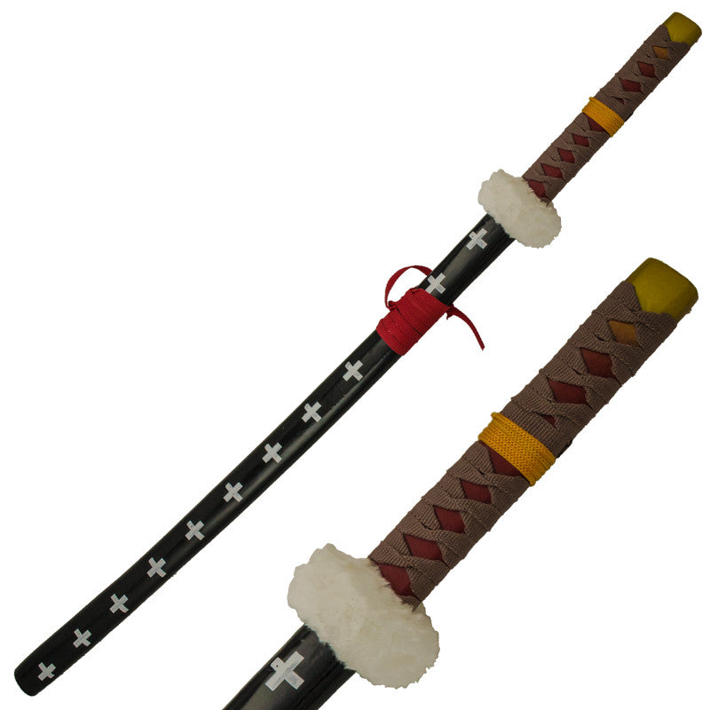 Cosplay Katana Wooden Sword, , Panther Trading Company- Panther Wholesale