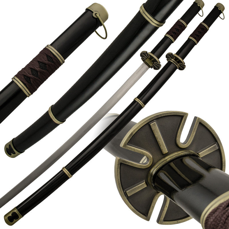 Dark Assassin Katana with Scabbard Included