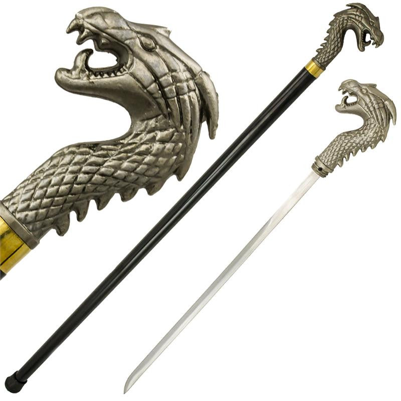 Dragon Walking Cane, , Panther Trading Company- Panther Wholesale