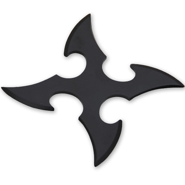 4 Blade Throwing Star-Black, , Panther Trading Company- Panther Wholesale