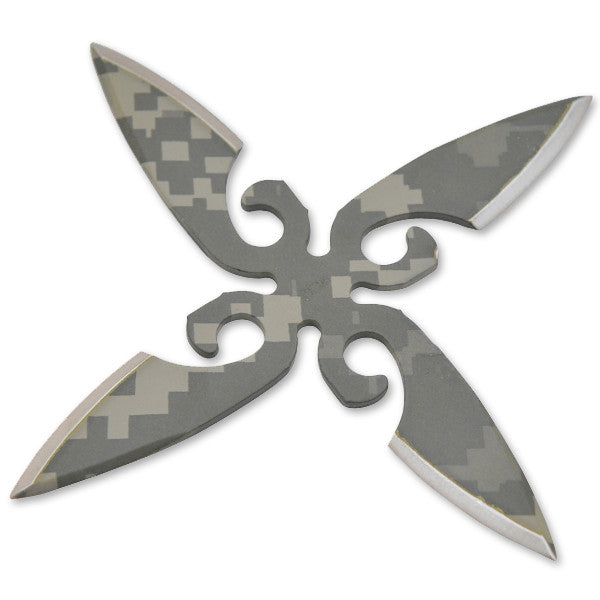 """Desert Death"" Throwing Stars - Fighter - Camo, , Panther Trading Company- Panther Wholesale"