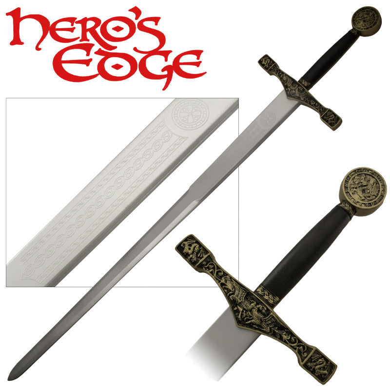 Foam Cosplay Excalibur Medieval Sword, , Panther Trading Company- Panther Wholesale