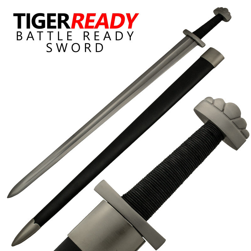 Full Tang Heat Temp Spartan Collector's Sword, , Panther Trading Company- Panther Wholesale