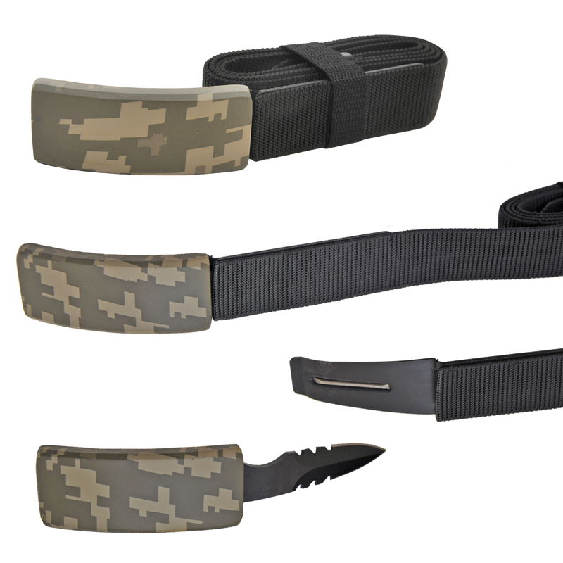 CIA Secret Agent public safety Belt Knife - Digital Camo