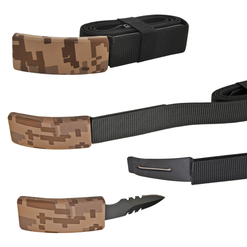 CIA Secret Agent public safety Belt Knife - Desert Camo