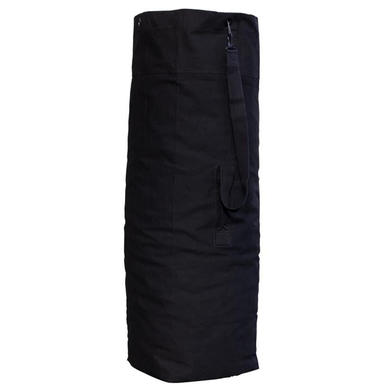 Black Parachute Bag 100 % Cotton, , Panther Trading Company- Panther Wholesale