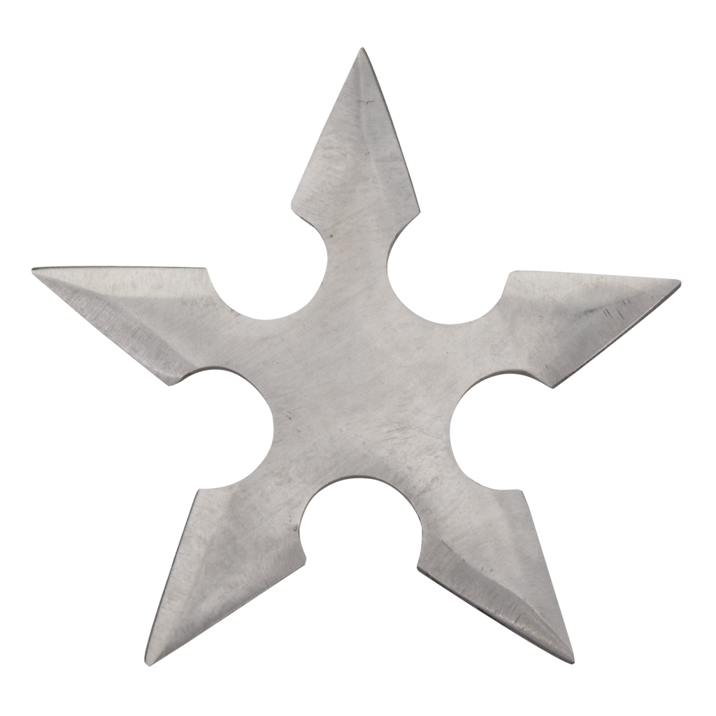 Deadly Assassin Stainless Steel Throwing Star