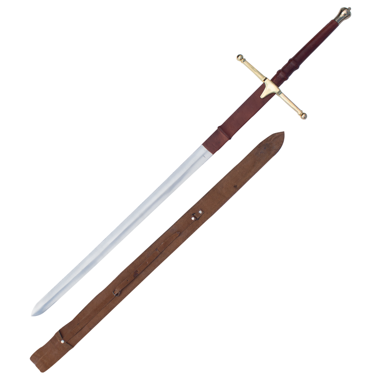 Sir William Wallace Sword Gold 52 Inch, , Panther Trading Company- Panther Wholesale