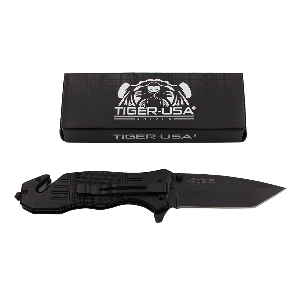 Protect Our Troops Action Liner Lock Tanto Blade Knife, , Panther Trading Company- Panther Wholesale