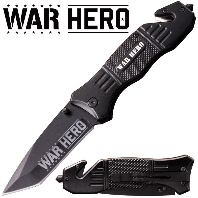 War Hero Action Liner Lock Tanto Blade Knife