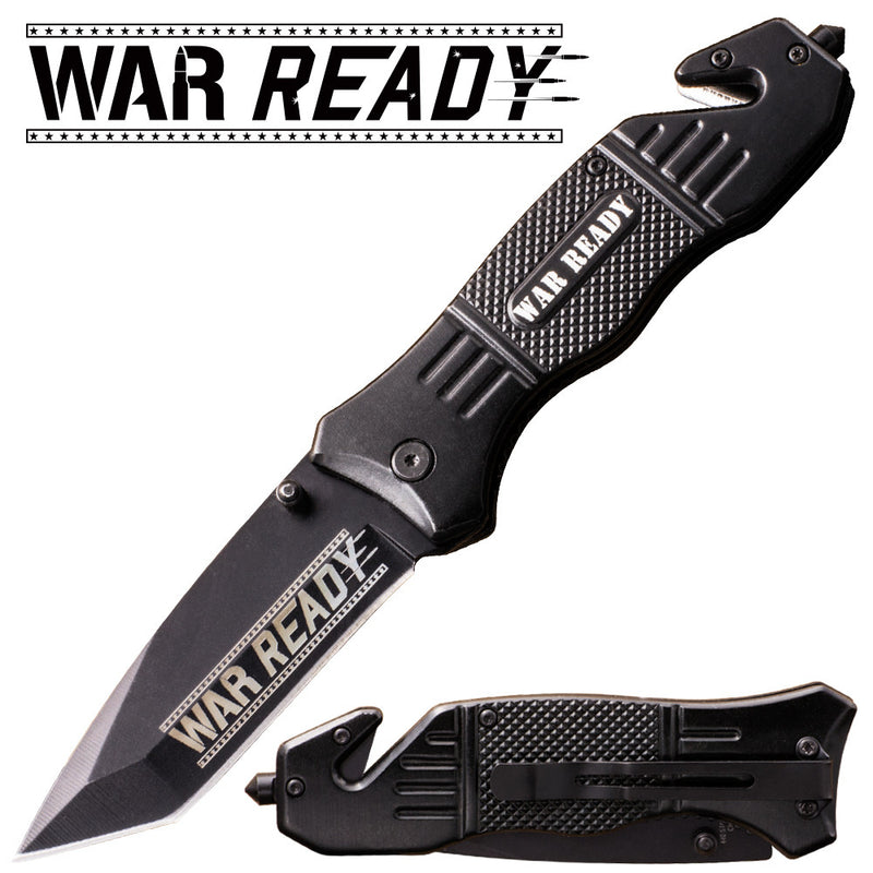 War Ready Action Liner Lock Tanto Blade Knife, , Panther Trading Company- Panther Wholesale