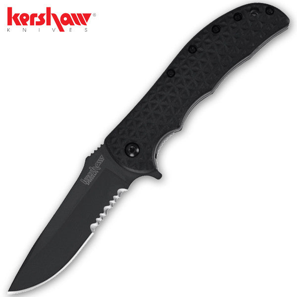 Black Volt II Knife by Kershaw, , Panther Trading Company- Panther Wholesale