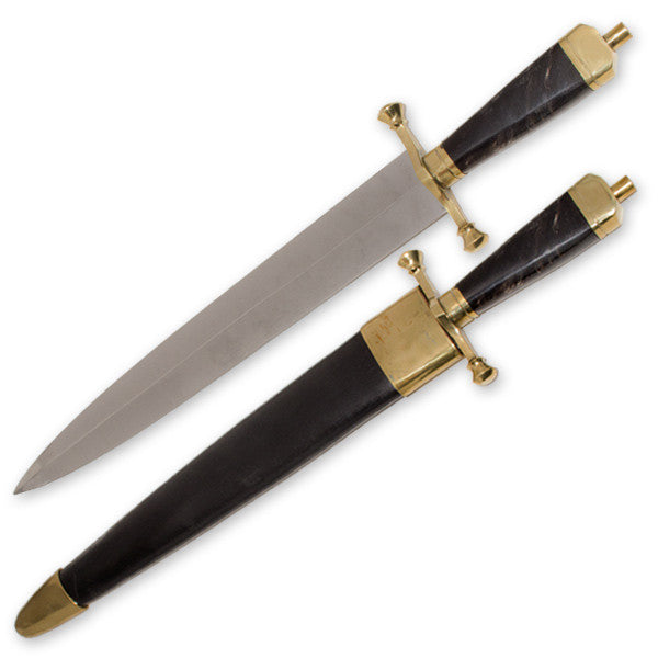 Arkansas Toothpick Dagger with Real Horn Handle, , Panther Trading Company- Panther Wholesale