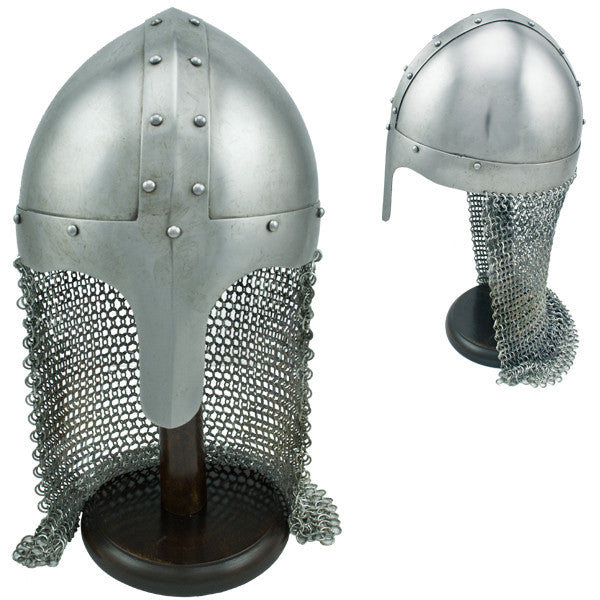 Aventail Knights Chain Mail Helmet, , Panther Trading Company- Panther Wholesale