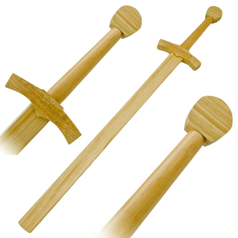 Medieval Inspired Bokken Wooden Practice Sword, , Panther Trading Company- Panther Wholesale
