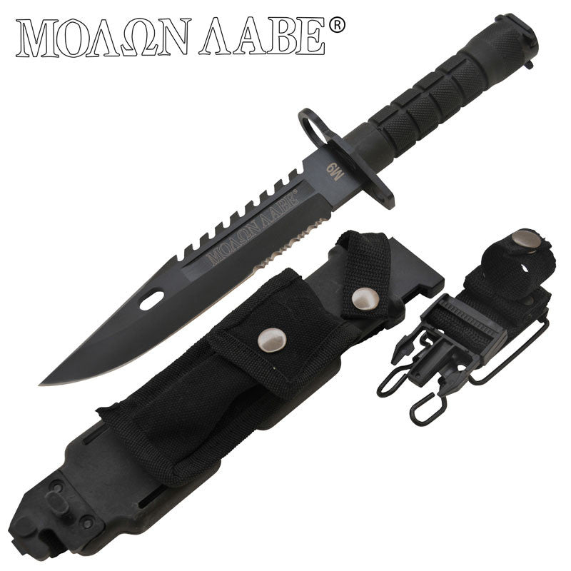 Molon labe 14 Inch AR-15 Bayonet (AR-15 Style), , Panther Trading Company- Panther Wholesale
