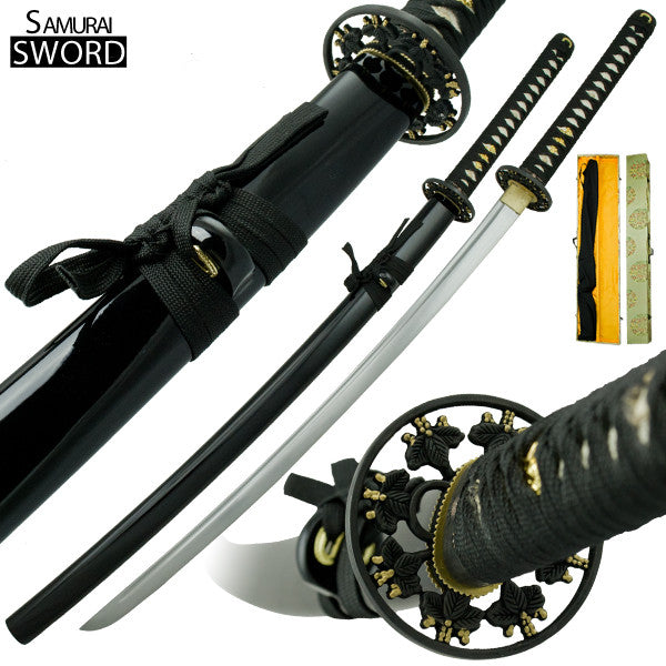 Handmade Deadly Dear Katana Samurai Sword Set, , Panther Trading Company- Panther Wholesale