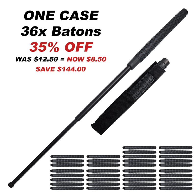36x One Case of 29 Inch Police Baton Soild public safety Stick