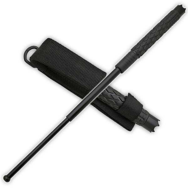 Tactical Hand Forged Baton w/ Case