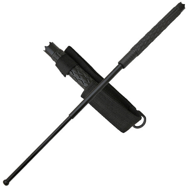 "26"" Tactical Hand Forged Batton w/ Case, , Panther Trading Company- Panther Wholesale"