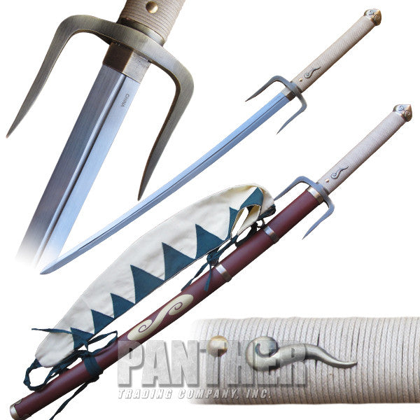 Native American Samurai Sword with Scabbard, , Panther Trading Company- Panther Wholesale