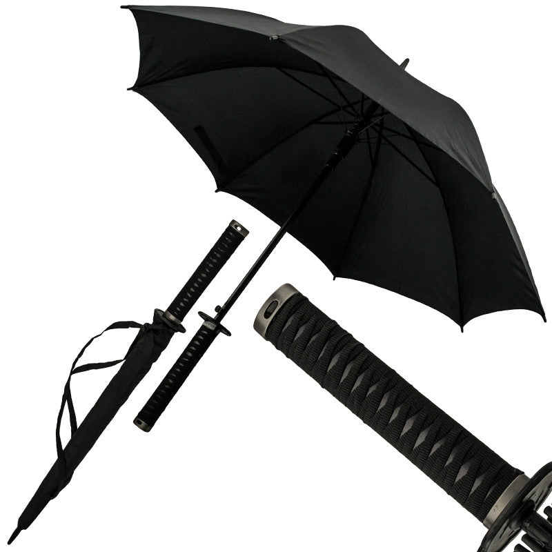 Novelty Katana Umbrella, , Panther Trading Company- Panther Wholesale