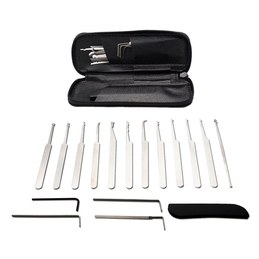 17 Piece Pro Lock Picks Lockpicking Set - Panther Wholesale