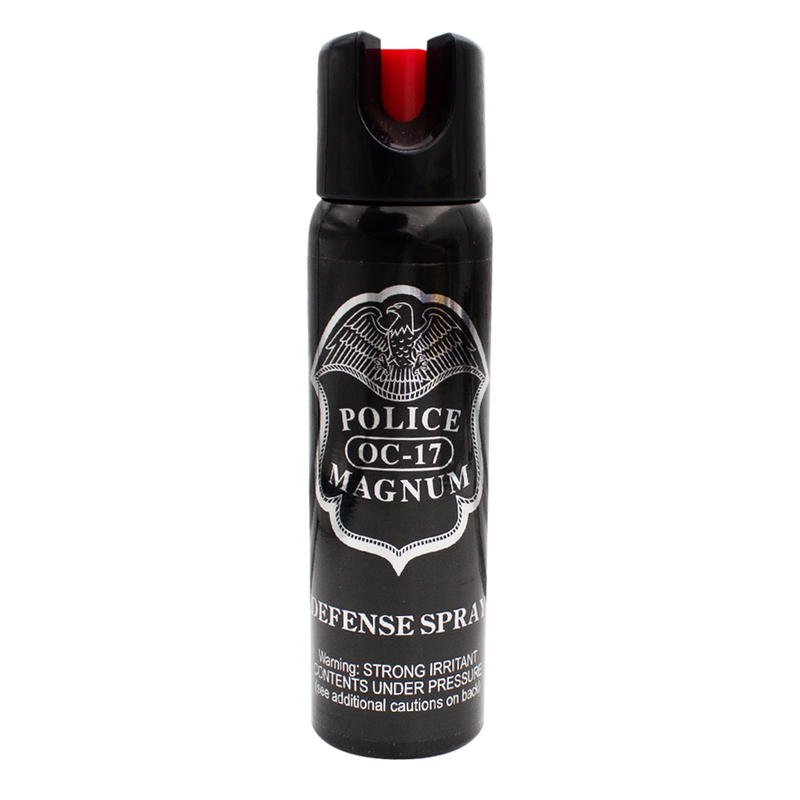 4 oz Pepper Spray - Police Strength OC-17 Magnum