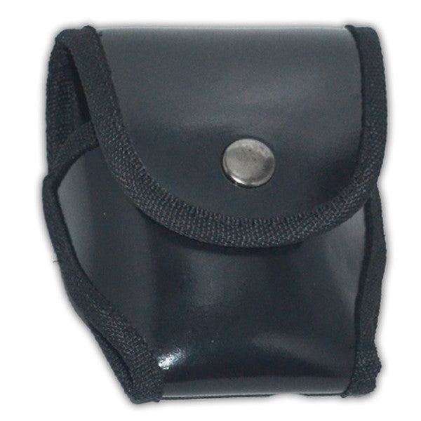 Black Plastic Handcuff Case- Fits most handcuffs, , Panther Trading Company- Panther Wholesale