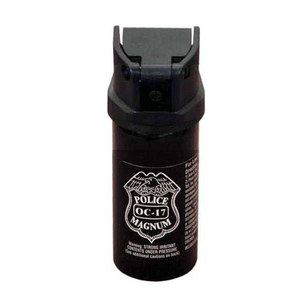 2 oz Pepper Spray with Flip Top- Police Strength OC-17 Magnum - Panther Wholesale