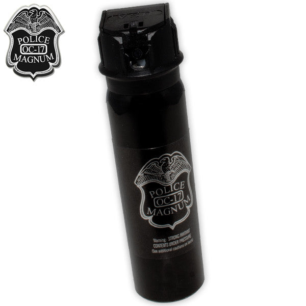 4 Ounce Flip Top Police Foam Pepper Spray