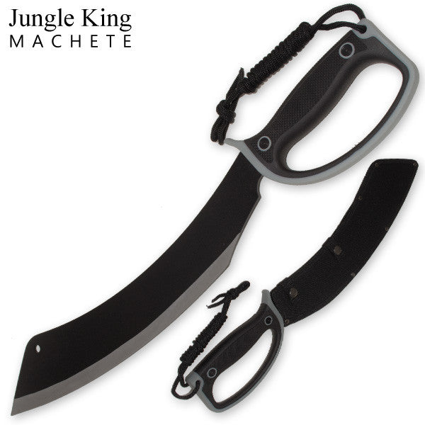21.25 Inch Jungle King Machete Enclosed Handle, , Panther Trading Company- Panther Wholesale