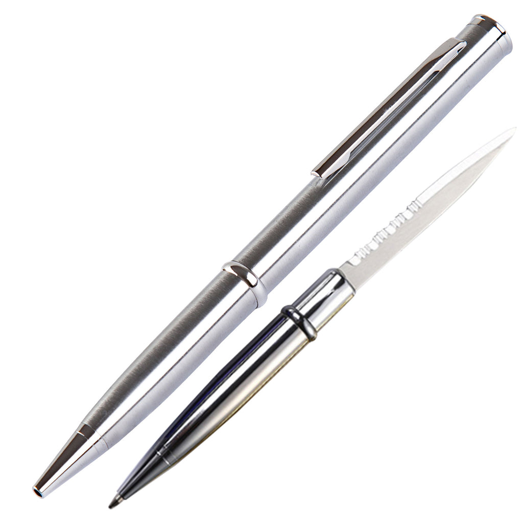 Pen Knife 12 PIECES Set - Silver