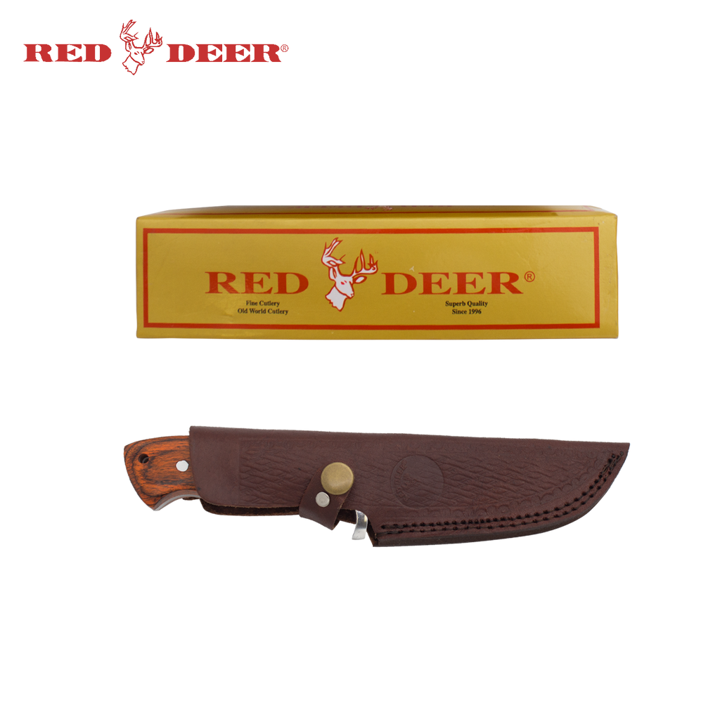 9 Inch Red Deer Full Tang Hunting Skinner, , Panther Trading Company- Panther Wholesale