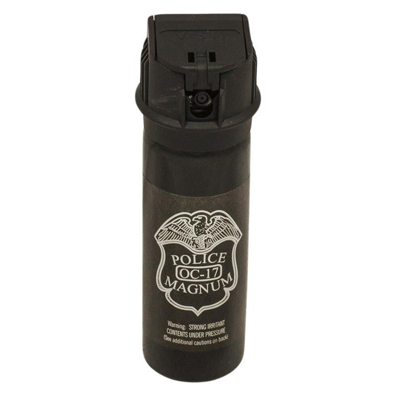 3 oz Pepper Spray with Flip Top- Police Strength OC-17 Magnum