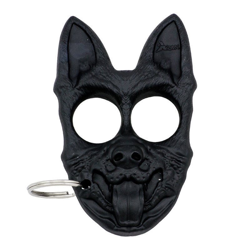 Public Safety K-9 Personal Protection Keychain - Black, , Panther Trading Company- Panther Wholesale