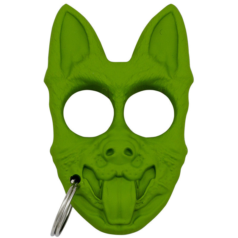 Public Safety K-9 Personal Protection Keychain - Green [CLD179], , Panther Trading Company- Panther Wholesale