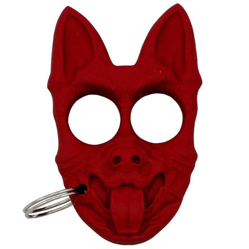 Public Safety K-9 Personal Protection Keychain - Red [CLD180], , Panther Trading Company- Panther Wholesale