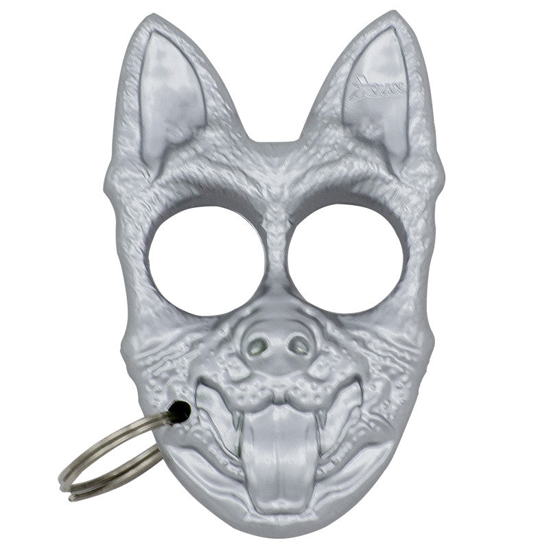 Public Safety K-9 Personal Protection Keychain - Silver, , Panther Trading Company- Panther Wholesale