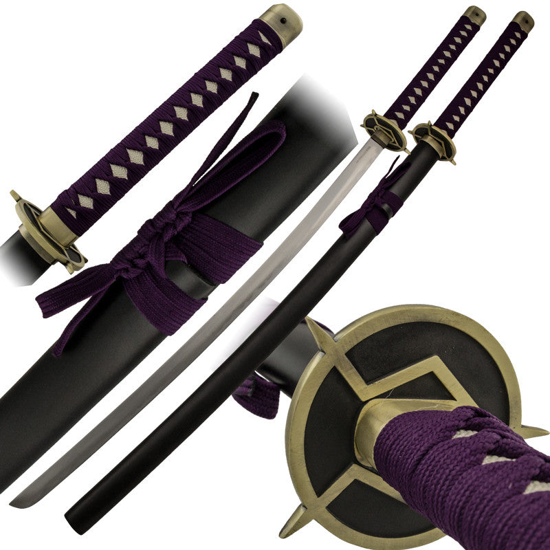 Purple Lion Katana Sword with Scabbard - Panther Wholesale