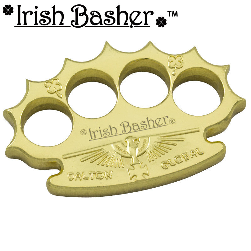 Irish Basher Robbie Dalton Global Heavy Belt Buckle Paperweights - Panther Wholesale