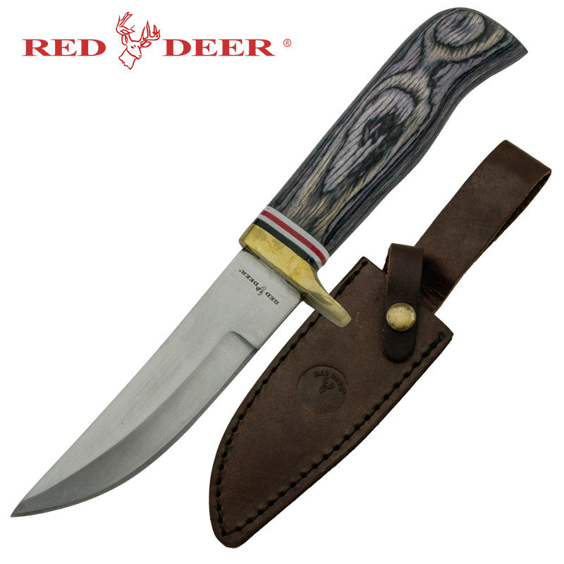 Red Deer Lone Star Red State Hunting Knife