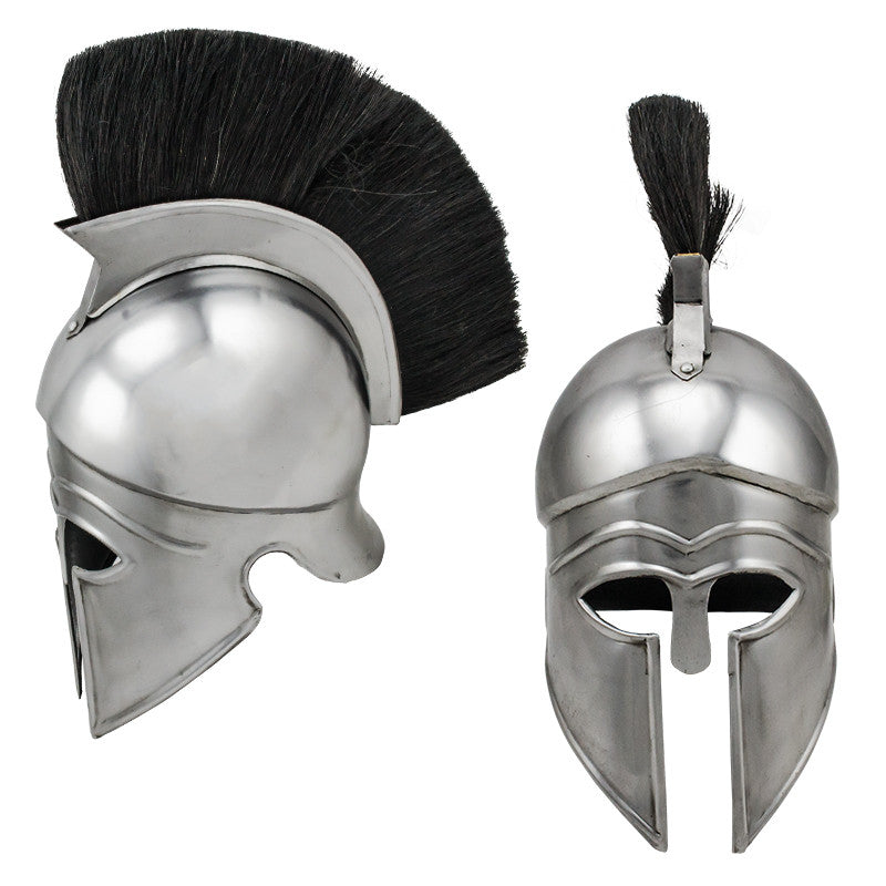 Roman Carbon Steel Defender Helmet, , Panther Trading Company- Panther Wholesale