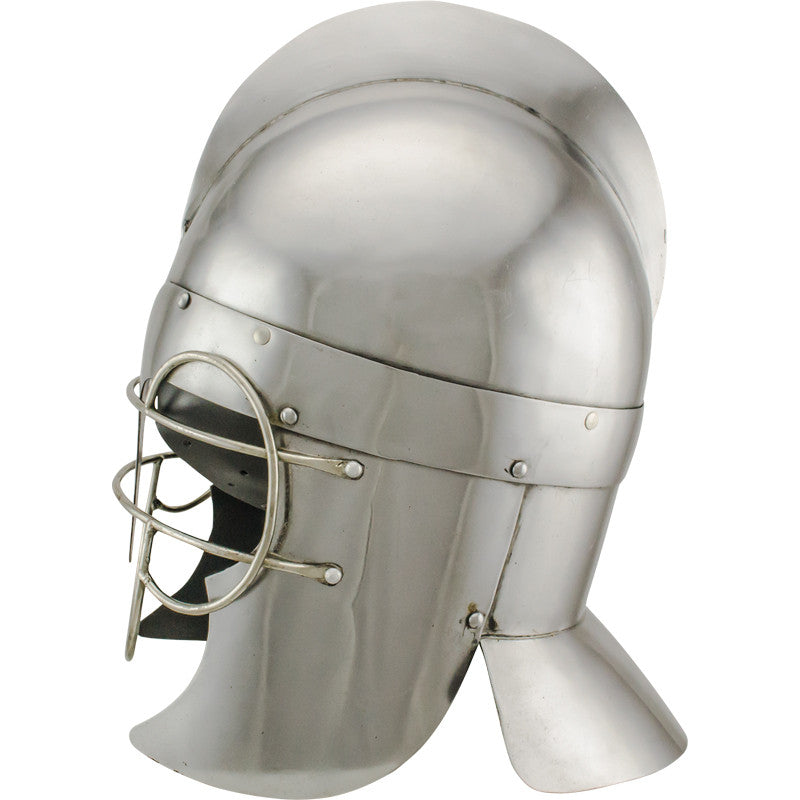 Roman Troopers Wire Guard Carbon Steel Helmet, , Panther Trading Company- Panther Wholesale